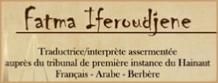Fatma Iferoudjene, beëdigde vertaalster Arabisch-Frans-Arabisch in Charleroi en Bergen (België)